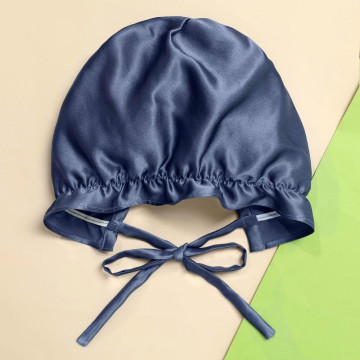 Baby Bonnets Silk Sleeping Adjustable Night Caps