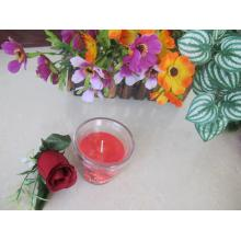 Colored Premium Quality Scented Glass Candle