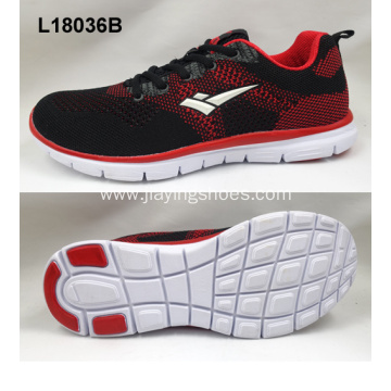 Lady sneaker flyknit fashion sport running shoes