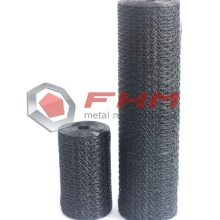 Black Vinyl Coated Chicken Wire Netting for Garden