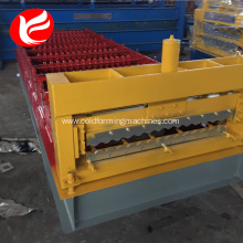 Metal corrugated tile roof panel roll forming machine