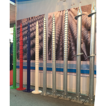 Galvanized Ground Screws Foundation