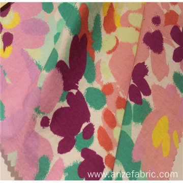 printed fabric 100%cotton poplin printed fabric for garment