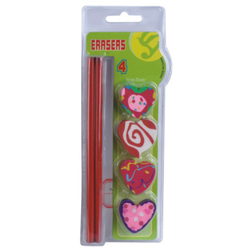 Pencil Eraser Set