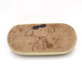 New fashional plush eyeglass case with logo