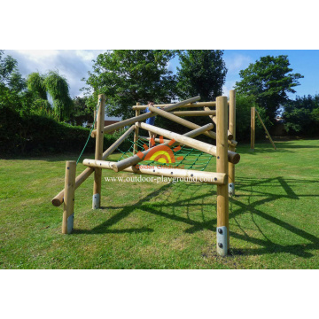 Outdoor Climbing Structure Playground Set Rope for kids