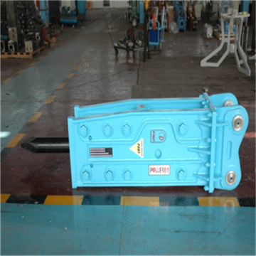 Hydraulic breaker  hammer rock