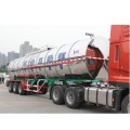 Transport truck milk tank