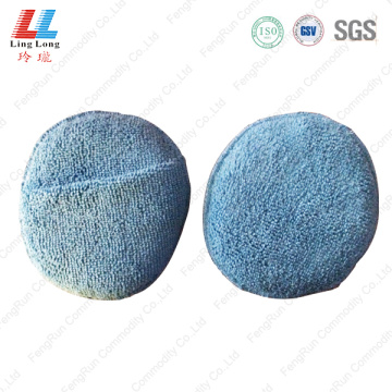 Massage goodly microfiber handle sponge