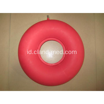 Medical Rubber Air Cushion bulat merah