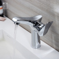 Single Hole Hot And Cold Water Basin Faucet
