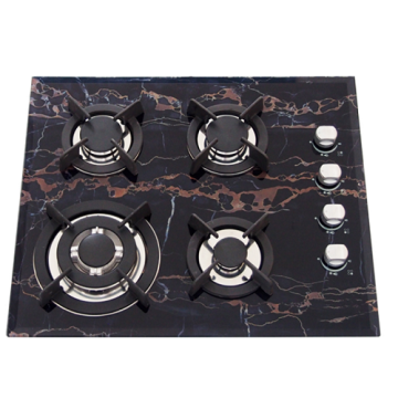 Brown Built In Hob 4 Ring