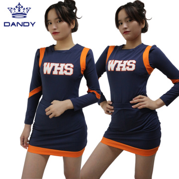 High school cheerleaders outfits