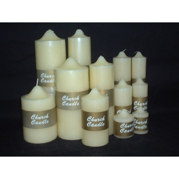 Beautiful Ivory Church Candle