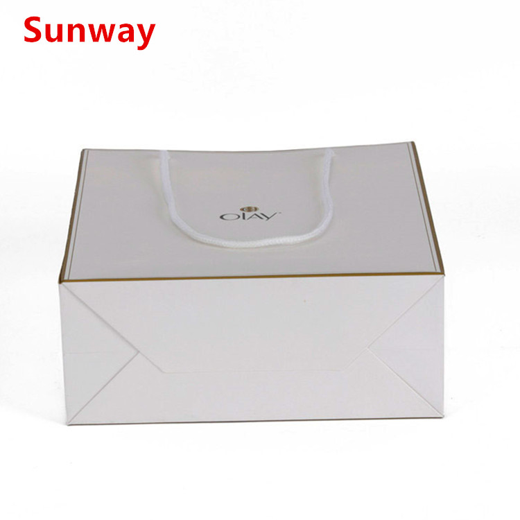 White Glossy Gift Bags