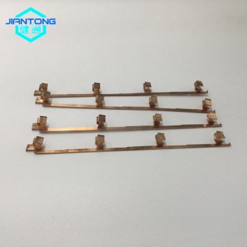 progressive stamping mold made copper switch spring