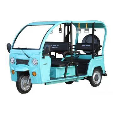 India Market Passenger Electric Semi-Enclosed Tricycle