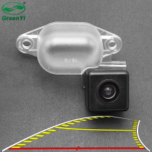 Vehicle Dynamic Trajectory Parking Line Car Rear View Reverse Backup Camera For Nissan X-Trail XTrail T30 2001-2006