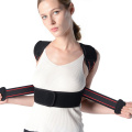 Shoulder elastic humpback correction belt