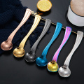 Stainless steel Football shaped Coffee Ice Cream Spoon