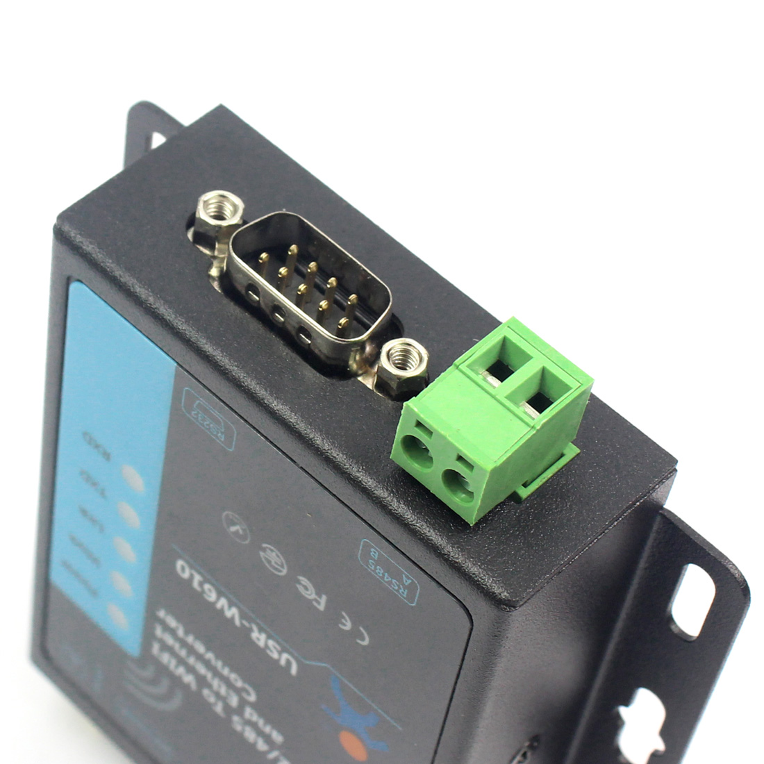 RS232 RS485 Serial to WiFi and Ethernet Converter USR-W610 Bi-directional Transmission Support Modbus VS USR-WIFI232-610 V2