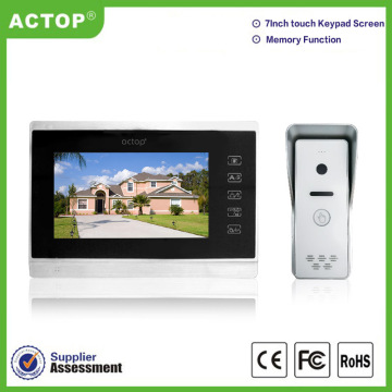 7 inch Memory Video intercom doorbells