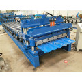 High Accuracy Step Roof Panel Roll Forming Machine