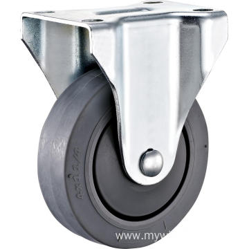 125mm Industrial TPR Wheel Rigid With Cover Castor