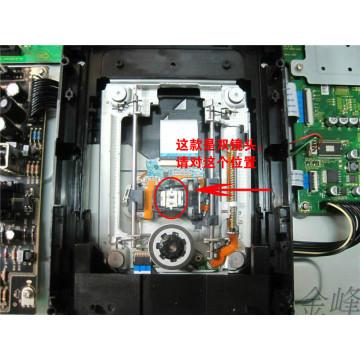 Unit for OPPO BDP-103 BDP103D BDP-105 BDP-105D Blu-ray disc Loader Laser Lens Optical Pick-ups Bloc Optique with Mechanism