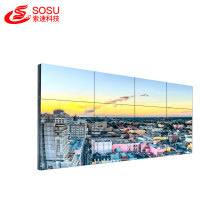 LCD video wall hd sin costura bisel estrecho lcd