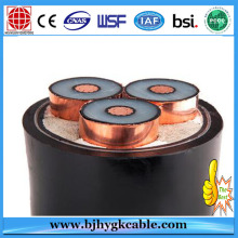 XLPE insulated 70mm copper cable Medium Voltage