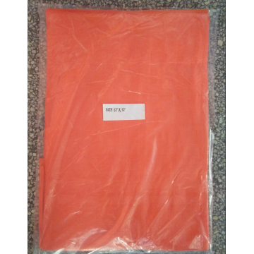 Orange color 12'x12' PE tarpaulin