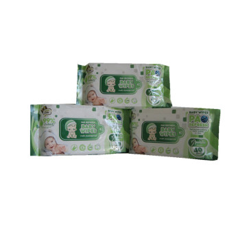Herbal Ingredient Portable Soft Baby Wet Tissues