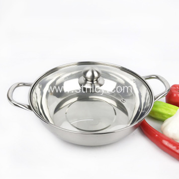 304 Thicken Two Flavors Stainless Steel Soup Pails