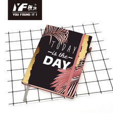 Today is the day PU hardcover notebook
