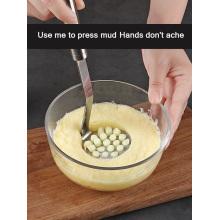 Stainless steel pressure mud machine home baby see tools kitchen mashed sweet potato masher pumpkin fruit mud