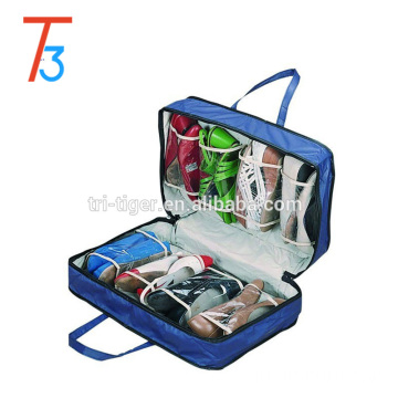 8 pockets Foldable Travel Shoe Storage bag