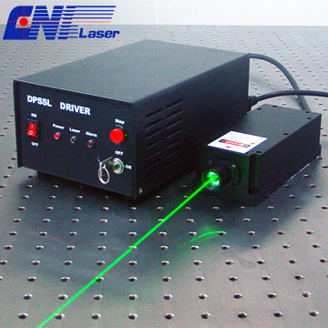 532nm  single longitudinal mode green laser