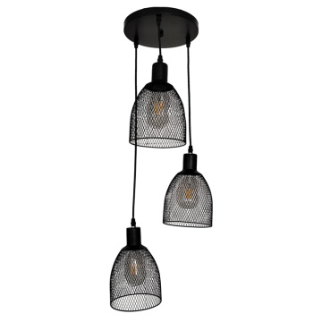 Led Black Pendant Lamp for Home Living Room