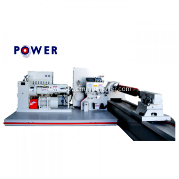 Rubber Roller Winding Machine For Printing Industry
