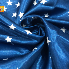 75D*150D Shrink-Resistant woven printed satin fabric
