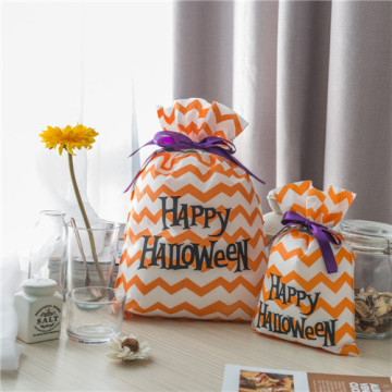Orange Non-woven Halloween Gift Bag Shop Near You