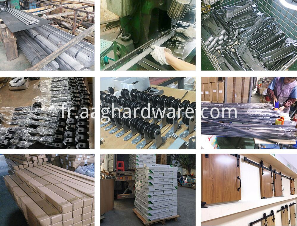 Mini barn door hardware production process