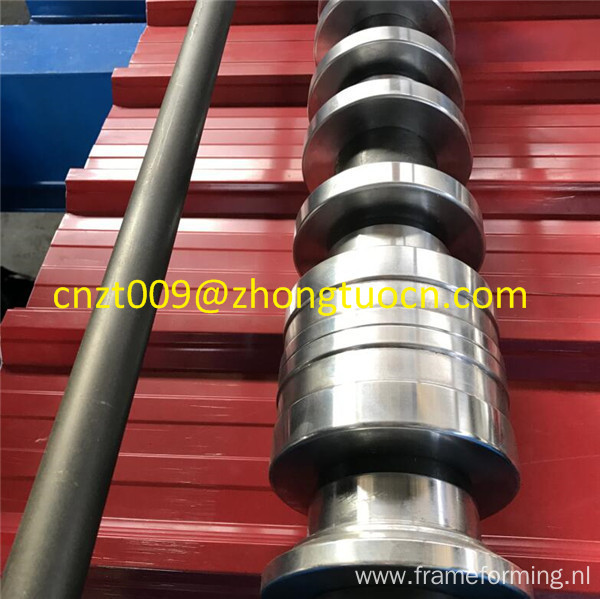 roofing sheet production line steel tile roll forming machine