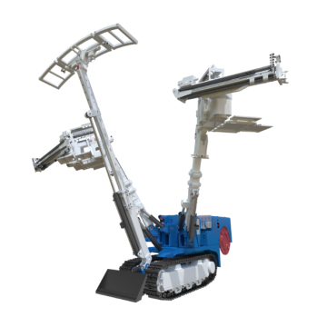 Crawler Mounted Rock Drill Bolter