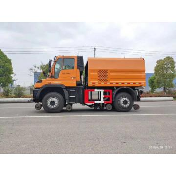 Brand New Benz U423 Multifunction Railway Sweep Truck