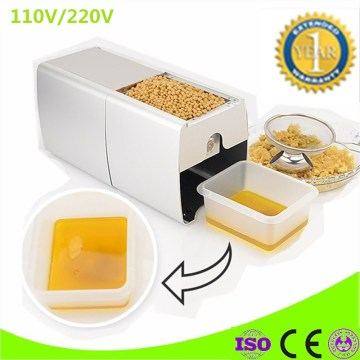 Mini Hot And Cold Oil Press Machine Peanut Soybean Oil Press Machine High Oil Extraction Rate