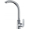 Full Brass Body Chrome Bathroom Sink Faucet