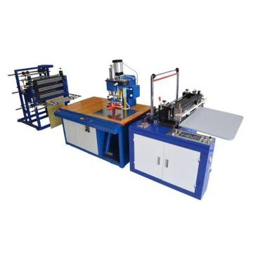 Automatic pvc zipper bag making machine