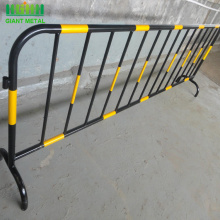 Temporary PVC Fence Crowd Control Barrier Metal Fence